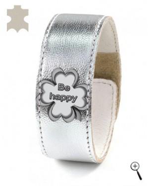 "Magnetic bracelet ""Be happy"" (details)"