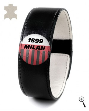 Magnetic bracelet for the home kit of AC MILAN