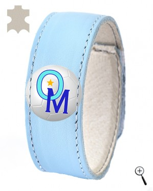 Magnetic bracelet for the third kit of OLYMPIQUE MARSEILLE