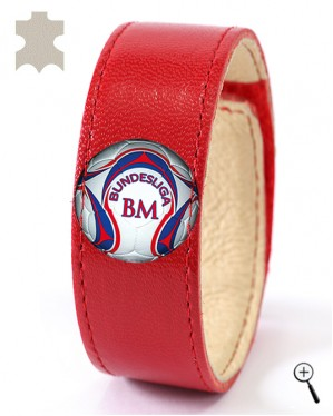 Magnetic bracelet for the home kit of FC BAYERN MINICH