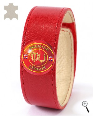 Magnetic bracelet for the home kit of MANCHESTER UNITED (details)