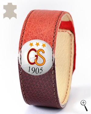 Magnetic bracelet for the home kit of GALATASARAY