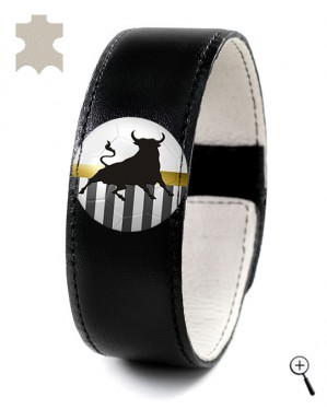 Magnetic bracelet for the home kit of JUVENTUS